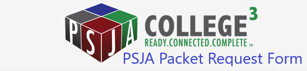 PSJA Packet Request Form Application Form For Instruction Packages