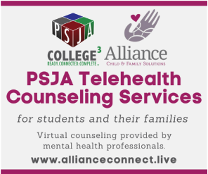 PSJA ISD offers telehealth counseling services for students, families