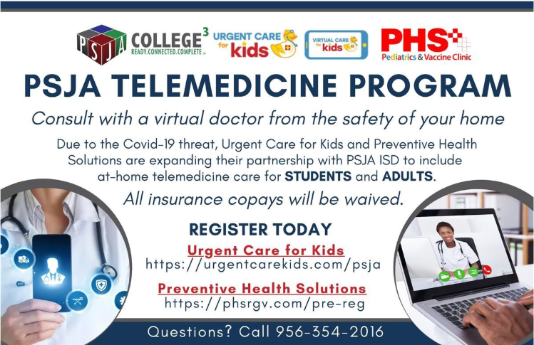 PSJA ISD expands partnership to provide on-demand access to healthcare for students, adults