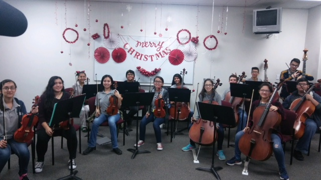 Alamo Middle Schools Orchestra Group