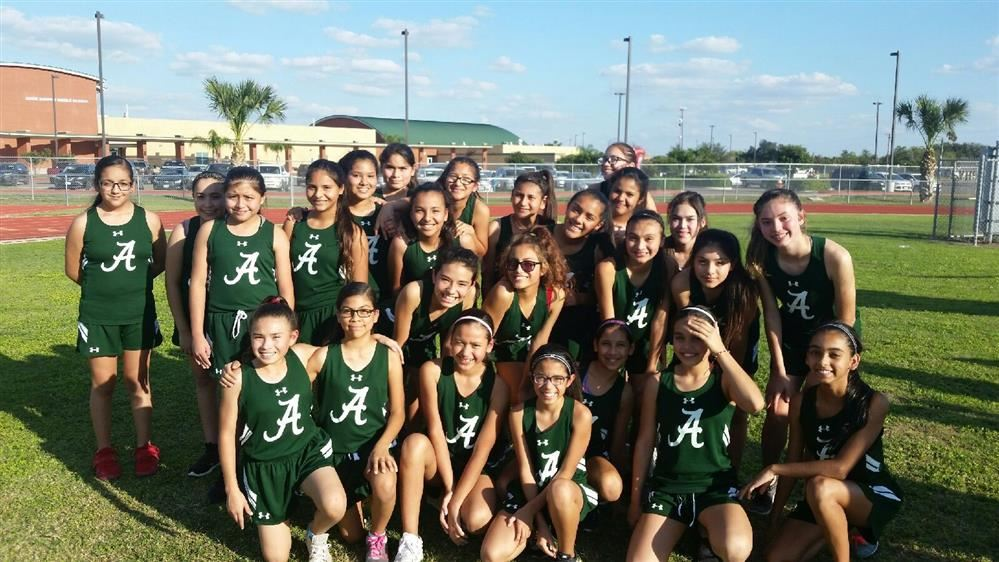 7th Grade Cross Country Team