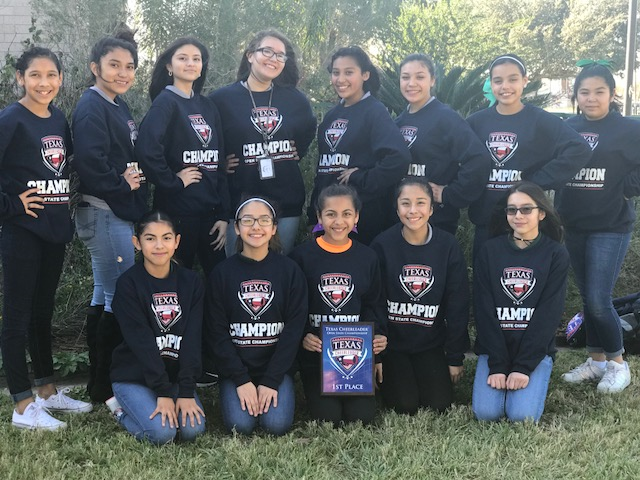 Congratulations to the Alamo Middle School Badger Cheerleaders