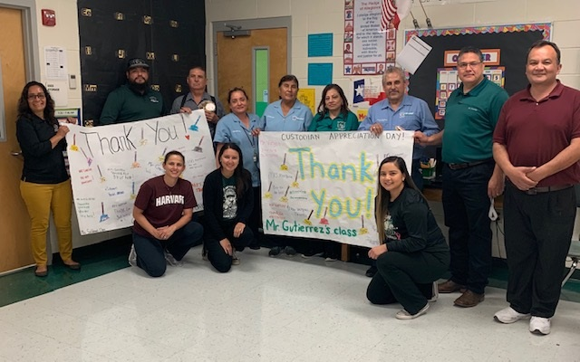 We appreciate our Custodians!!