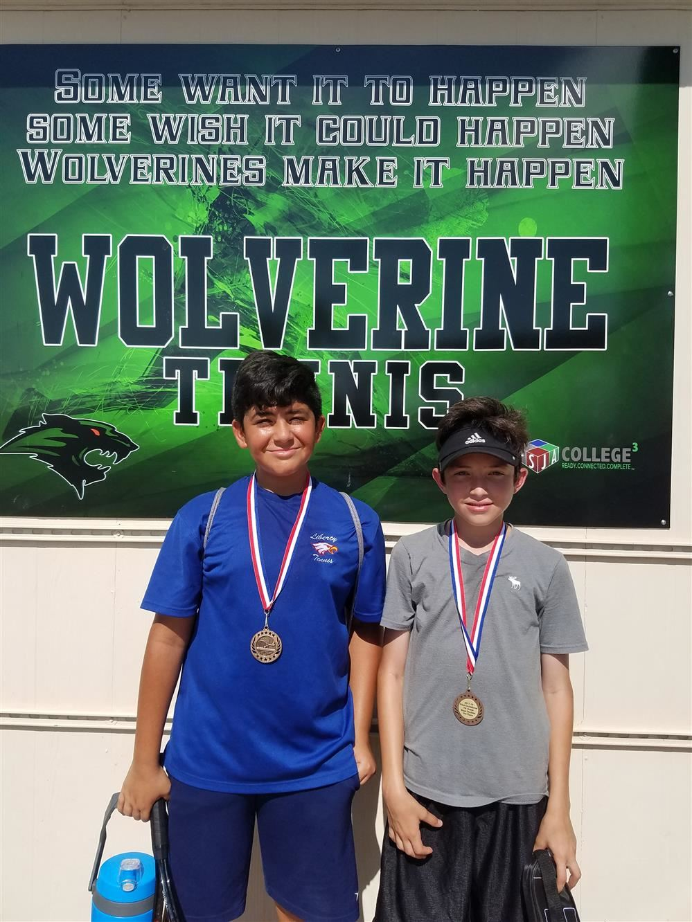 Congratulations goes out to the Liberty Tennis Team for competing at the PSJA 7th and 8th Tennis Tournament on Saturday 11-04-17.