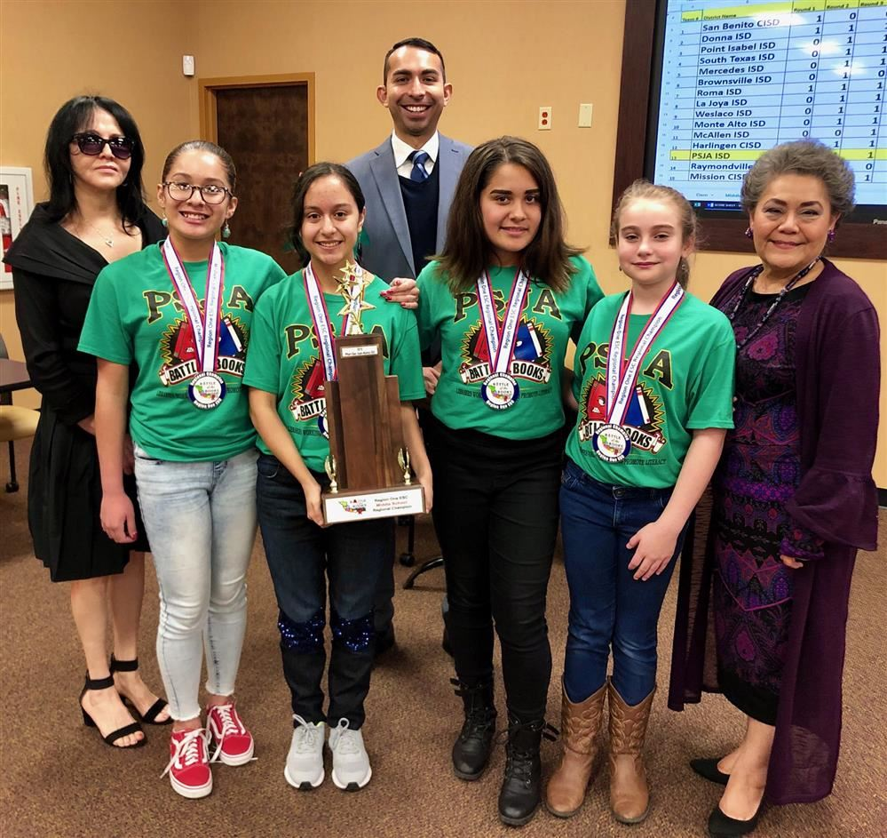 LMS - Regional Battle of the Books Champs.