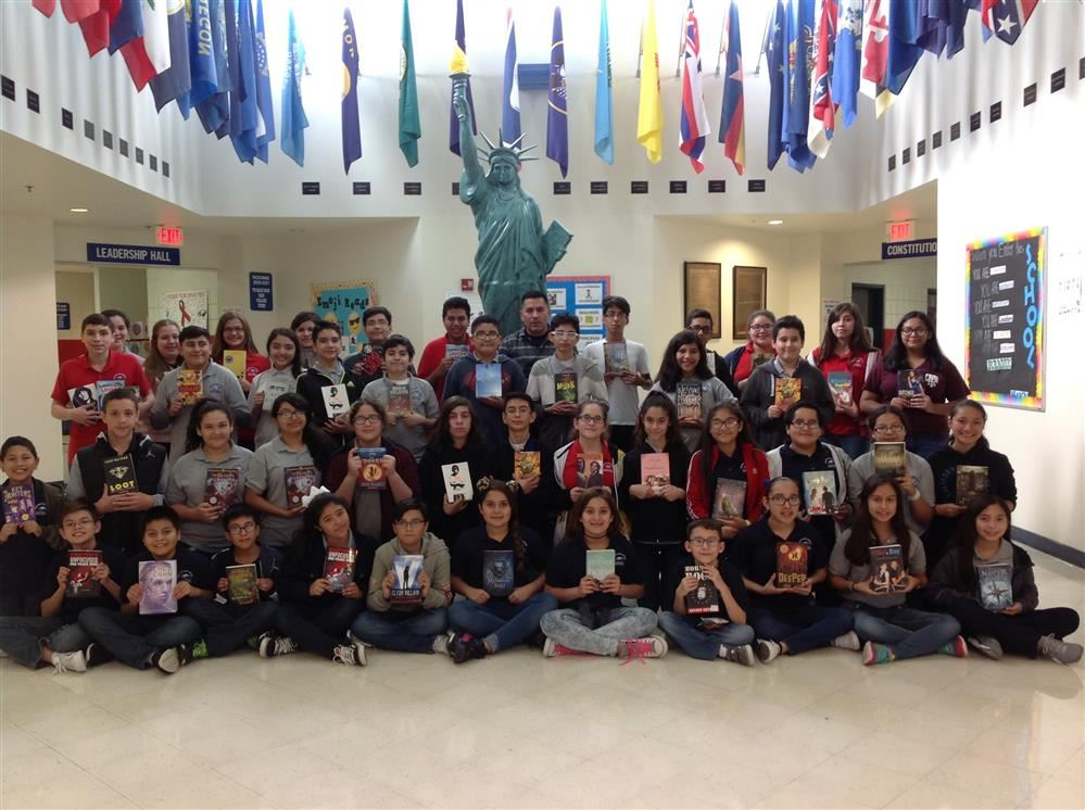 52 students were invited to Round One of Battle of the Books Celebration.