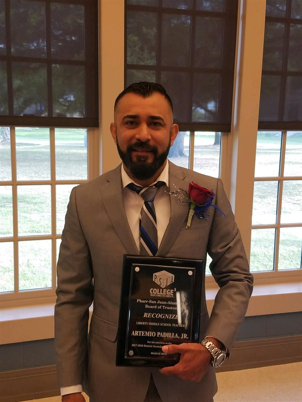PSJA LMS Secondary Teacher of The Year