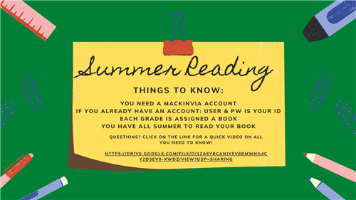 2018 Summer Reading Instructional Guides