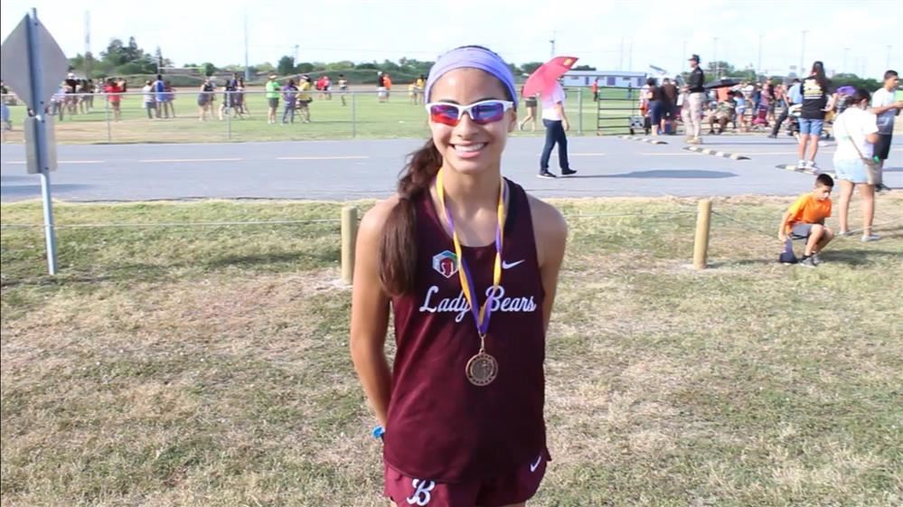 Congratulations Carissa Gonzalez ! Great job in starting your season in the TOP 10 Runners!
