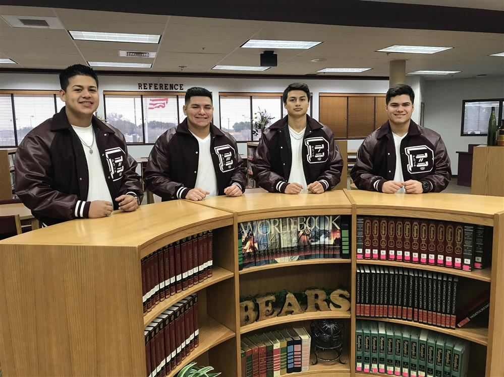 Mighty Bears Football selected to the All Area Team
