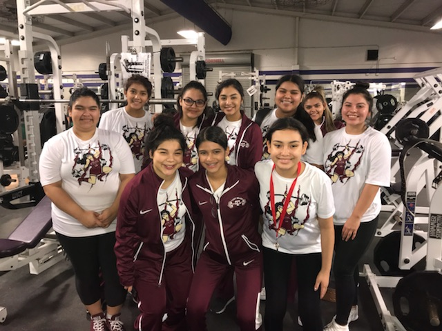 Lady Bears Powerlifting