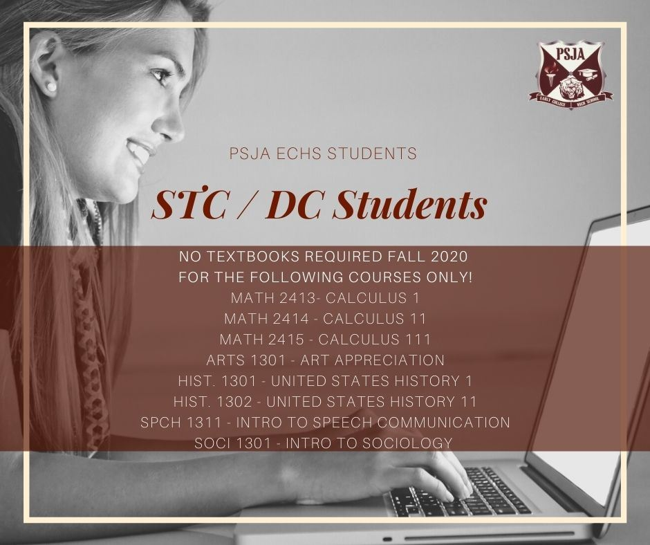 IMPORTANT INFORMATION FOR STC STUDENTS!