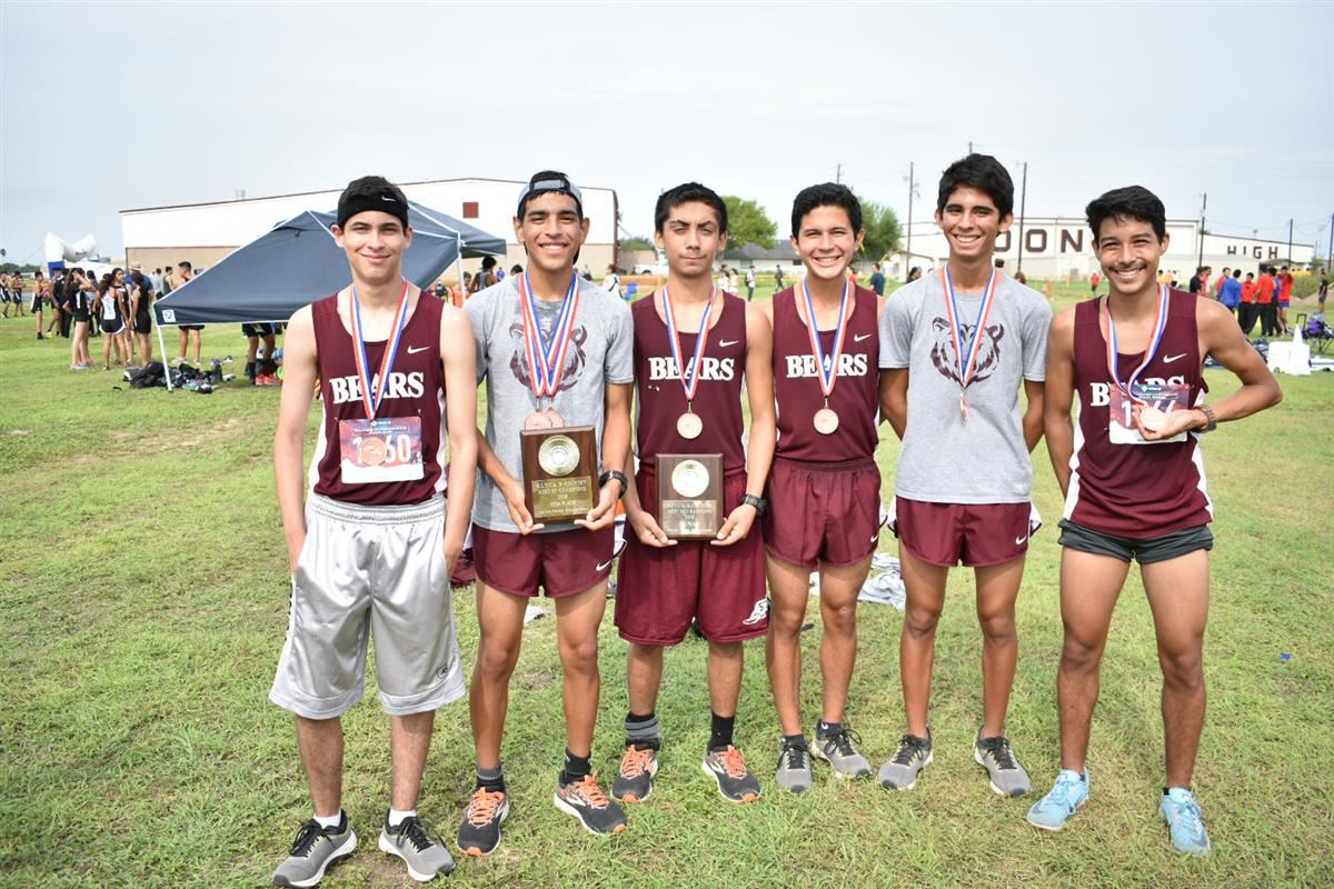PSJA BEARS XC TEAM PLACE AT MEET OF CHAMPS