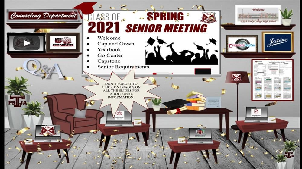 SENIOR PARENT MEETING: SLIDE PRESENTATION