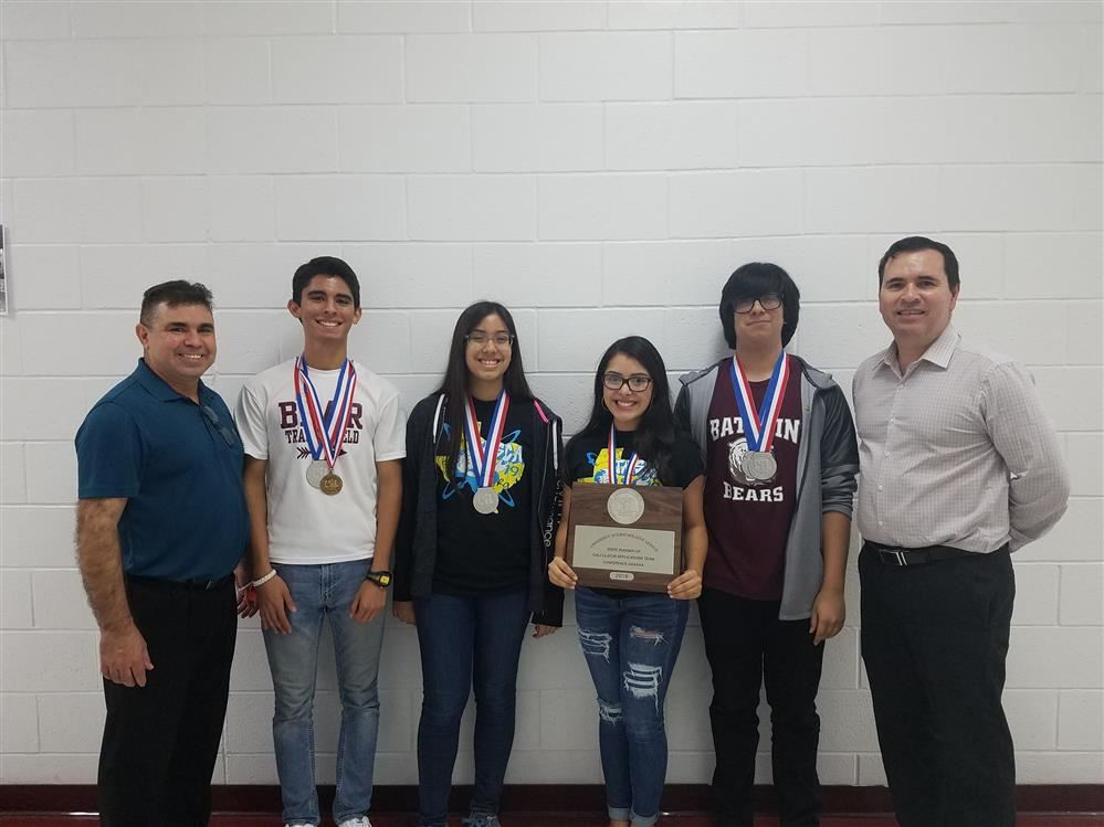 UIL MATH TEAM WIN 2nd PLACE AT UIL STATE TOURNAMENT AT UT AUSTIN