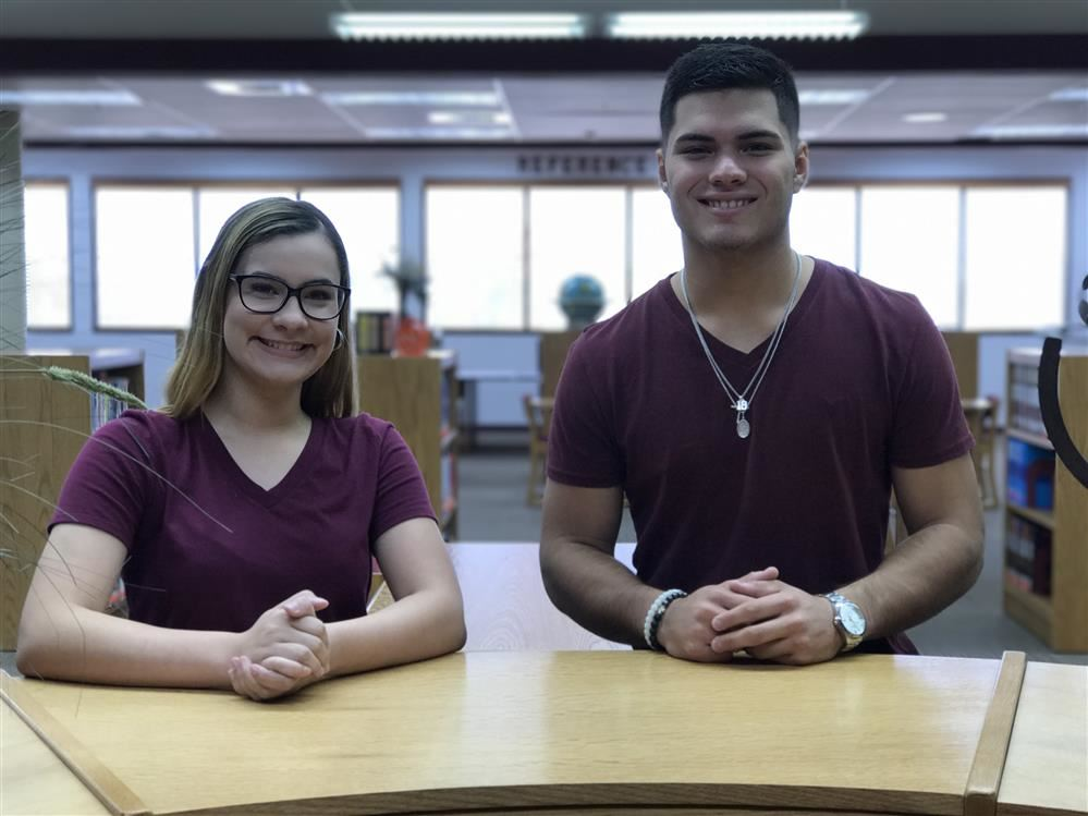 CONGRATULATIONS  Trey Guajardo and Ariana Lazo for being selected as Rotary Couples of the Month