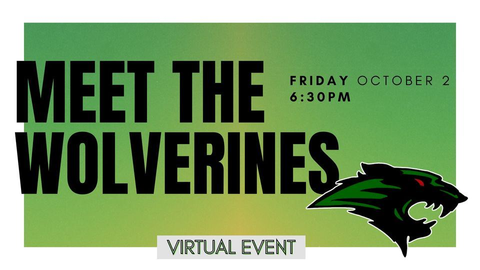 Meet the Wolverines Live Virtual Rally