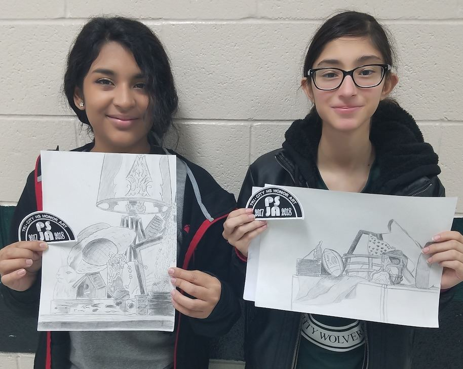Students Place at Art Contest!
