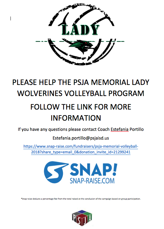 Snap! Fundraising for Volleyball