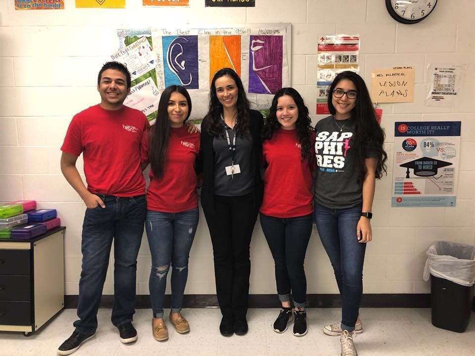 A Huge Congratulations to Mrs. Villarreal's HOSA Chapter 7192 who are advancing to State!