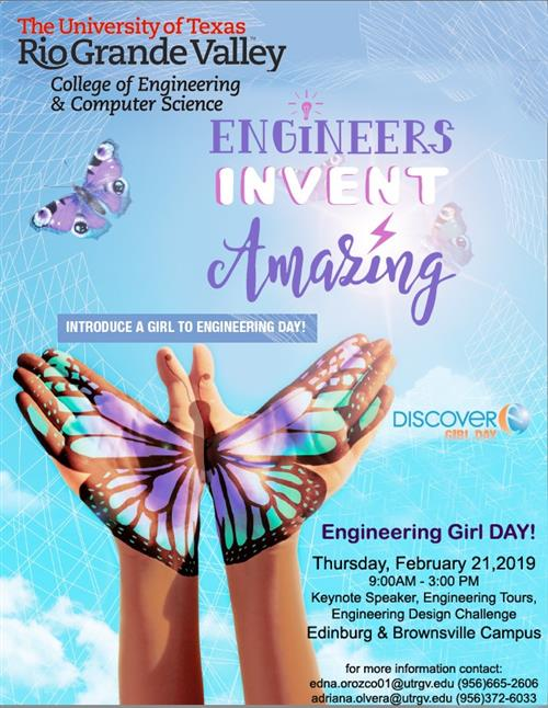 2nd annual Engineering Girl Day Event