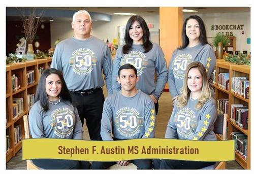 Austin Middle School Administration Photo