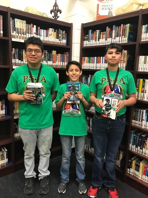 Battle of the Books Team 2018!