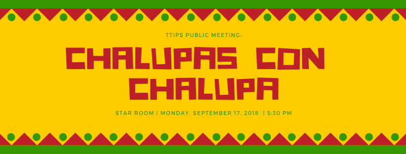 Chalupa with Chalupas Day September 17th at 5:30 PM