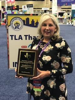 Librarian Lisa Hernandez receives nomination