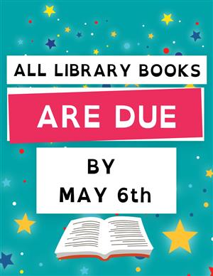 Books Due May 6th