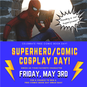 Cosplay Day May 3rd