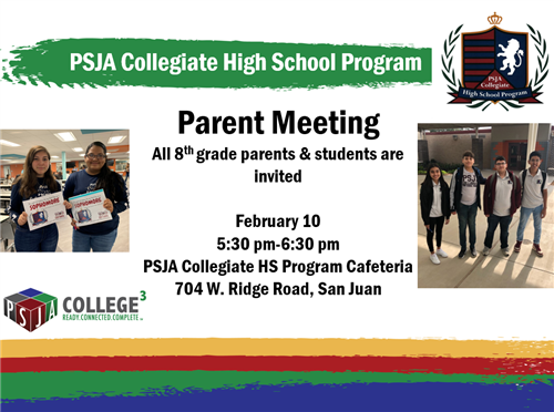 Parent meeting 2 10 20