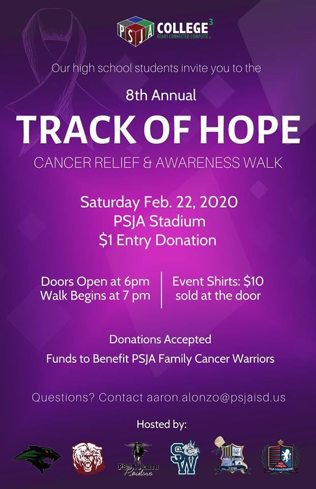 Track of Hope Flyer
