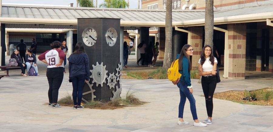 PSJA North ECHS Courtyard Improvements - COMPLETED