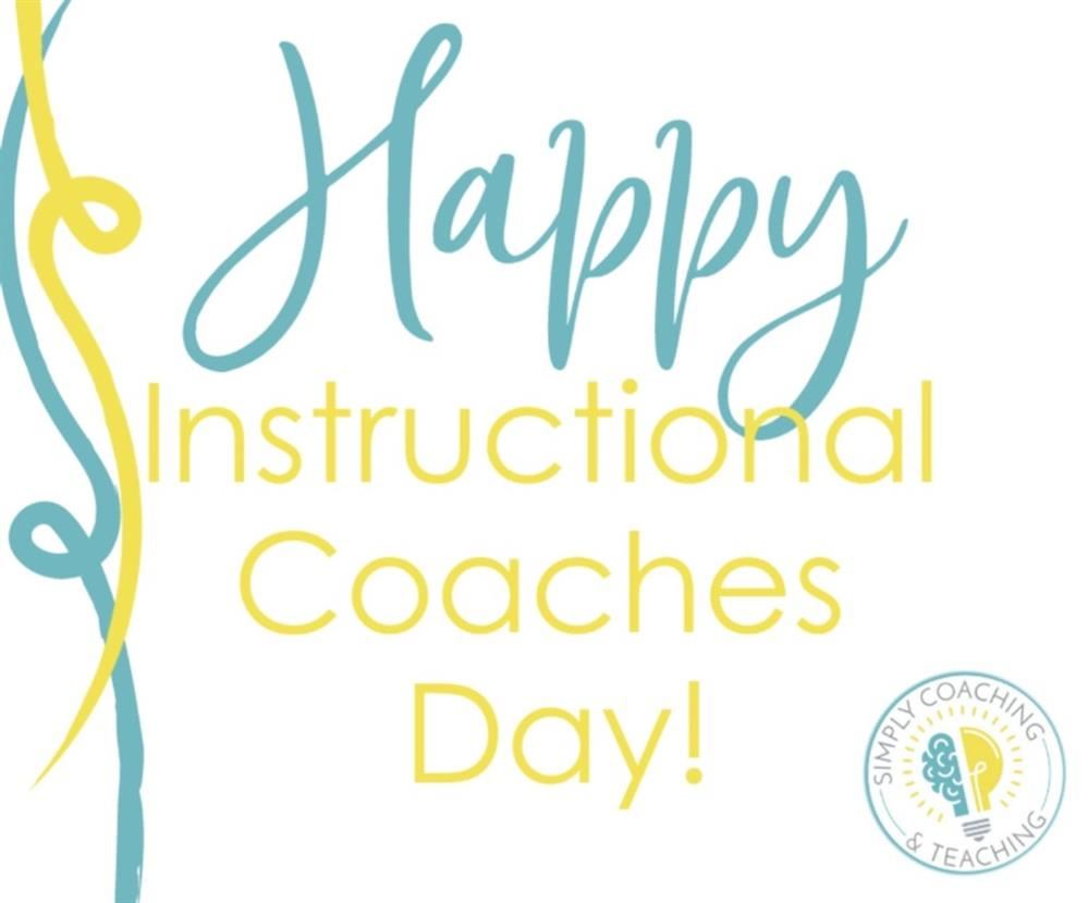 Happy Instructional Coach Day