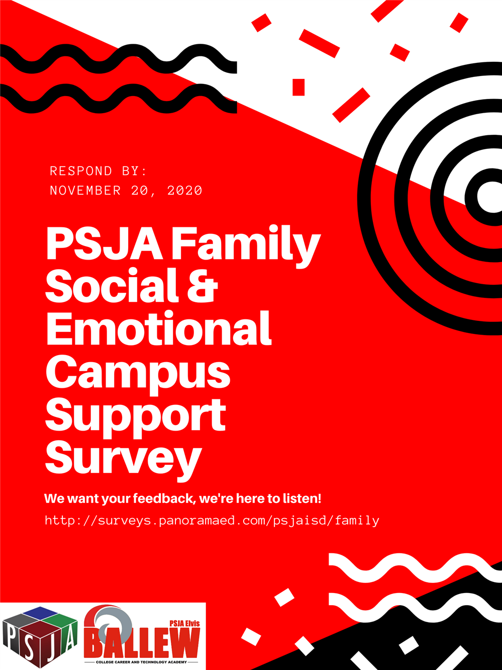 PSJA Social & Emotional Campus Support survey