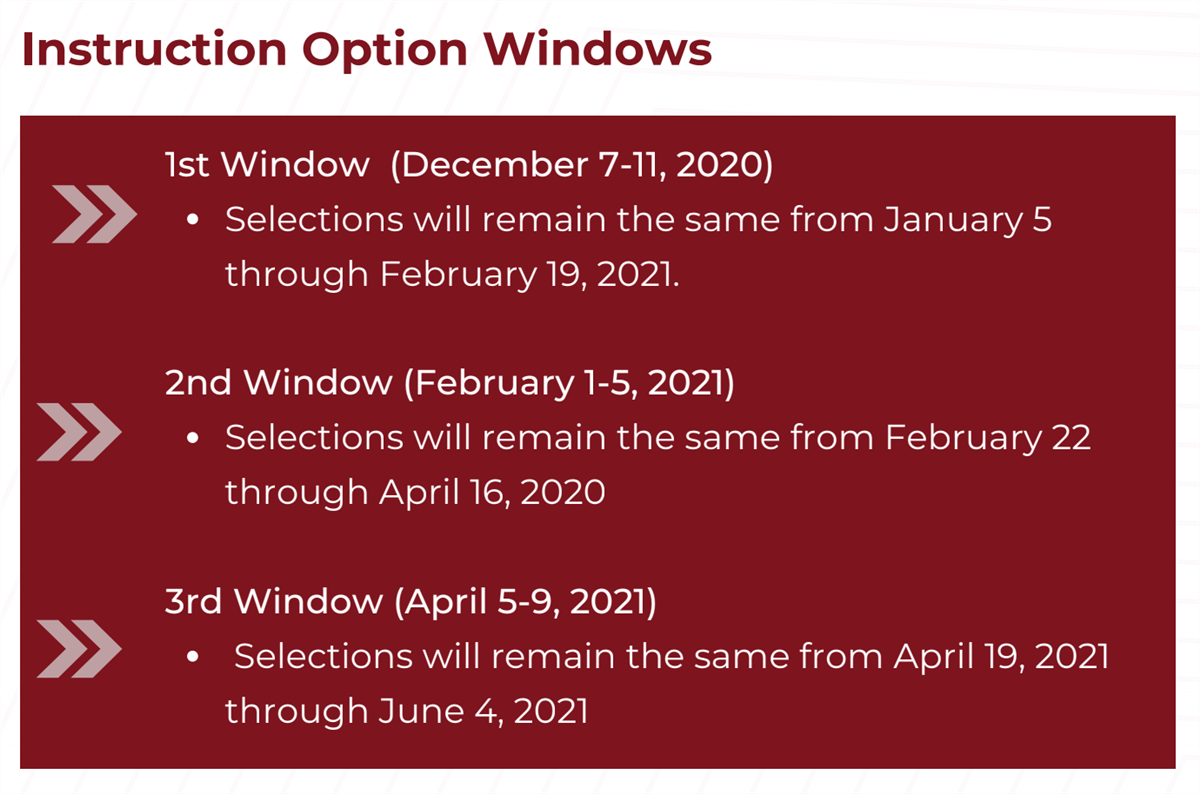 Option Windows