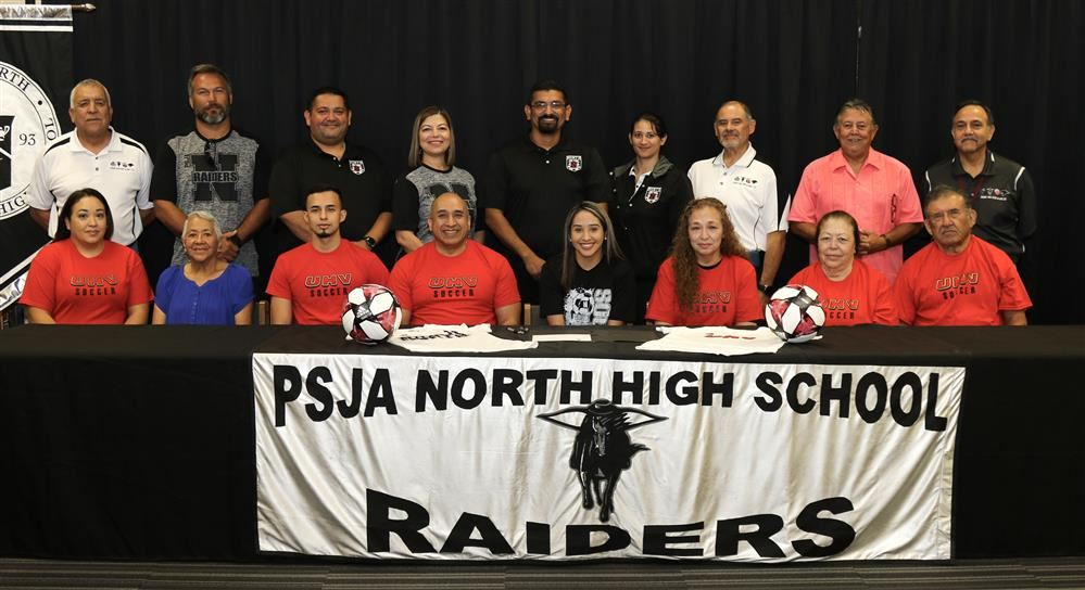 PSJA North Lady Raider signs with University of Houston-Victoria