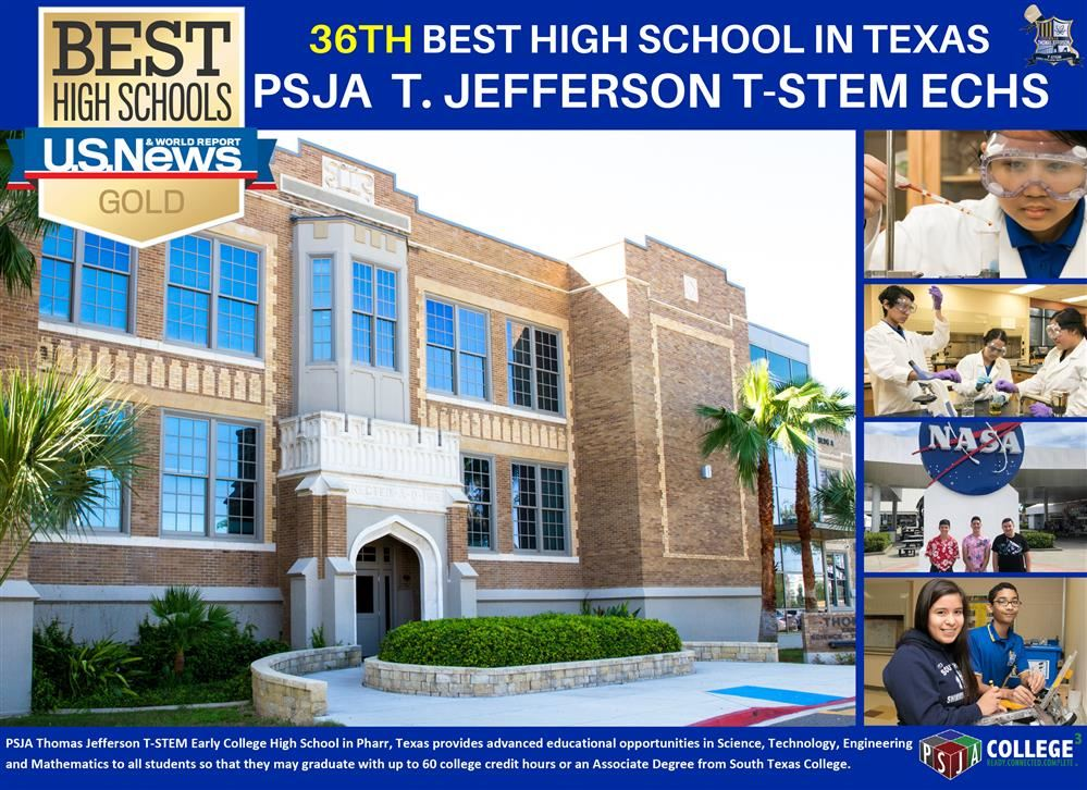 PSJA ISD high school ranked among best in Texas for fourth consecutive year