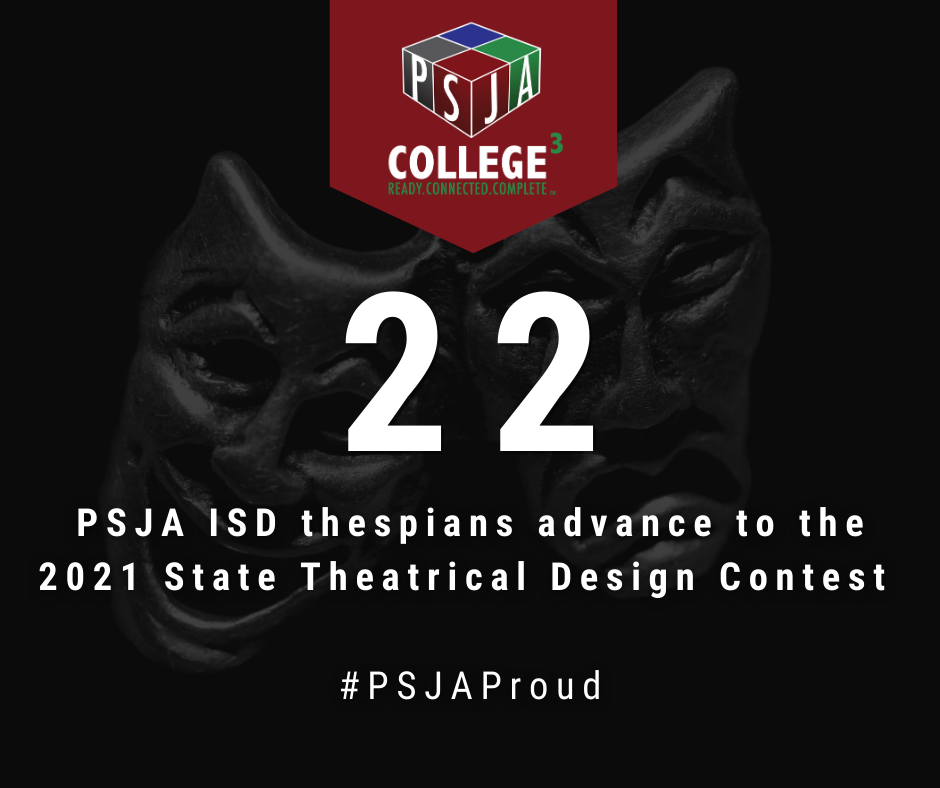 Over 20 PSJA ISD thespians advance to State Theatrical Design Contest