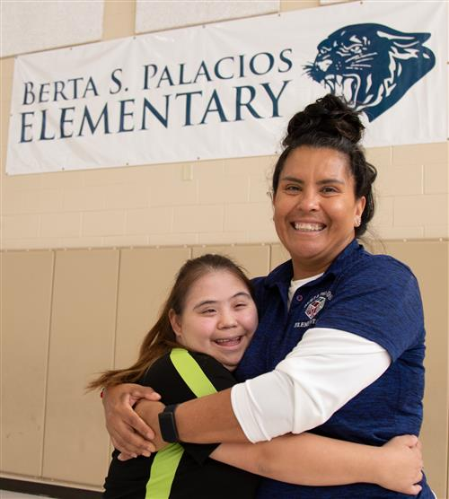 PSJA ISD special needs employee, alumna fulfills dream of working in education
