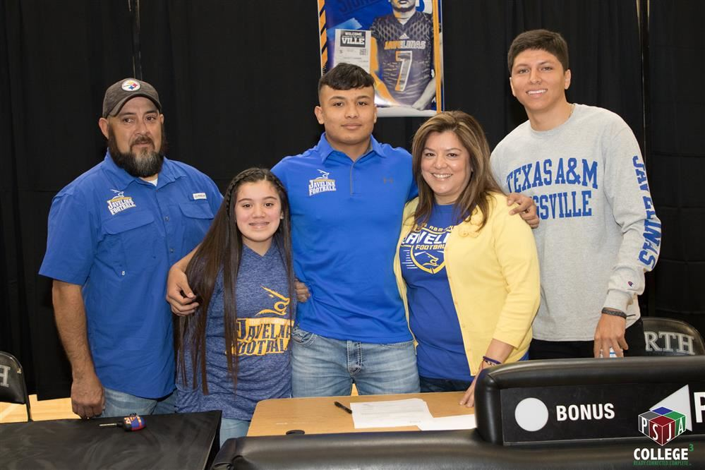 PSJA North's Seven Sanchez signs with Texas A&M Kingsville