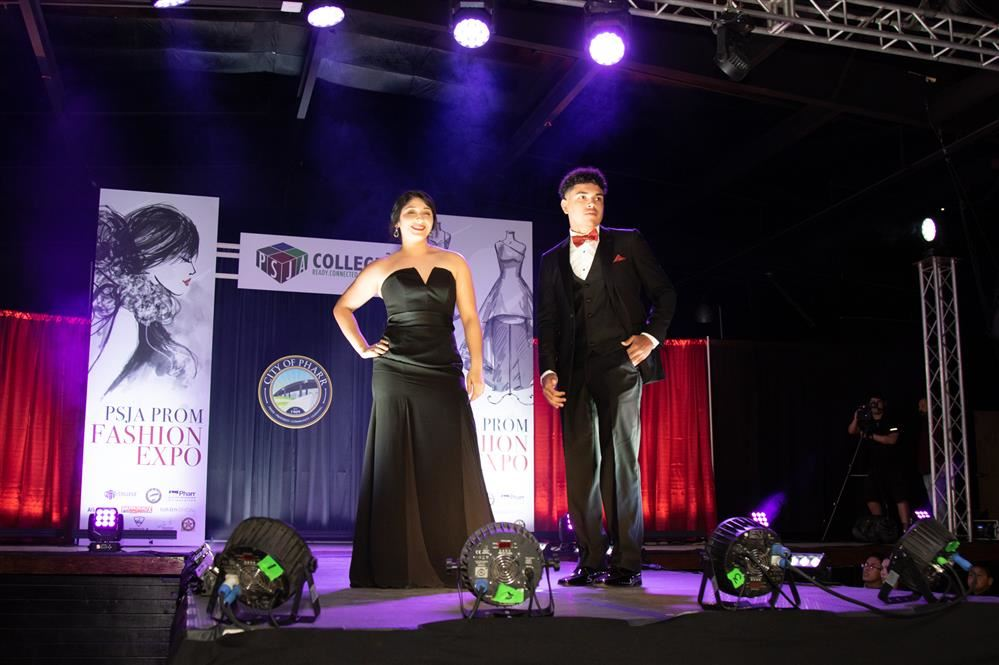 PSJA ISD students rock the runway during district's first Prom Fashion Show