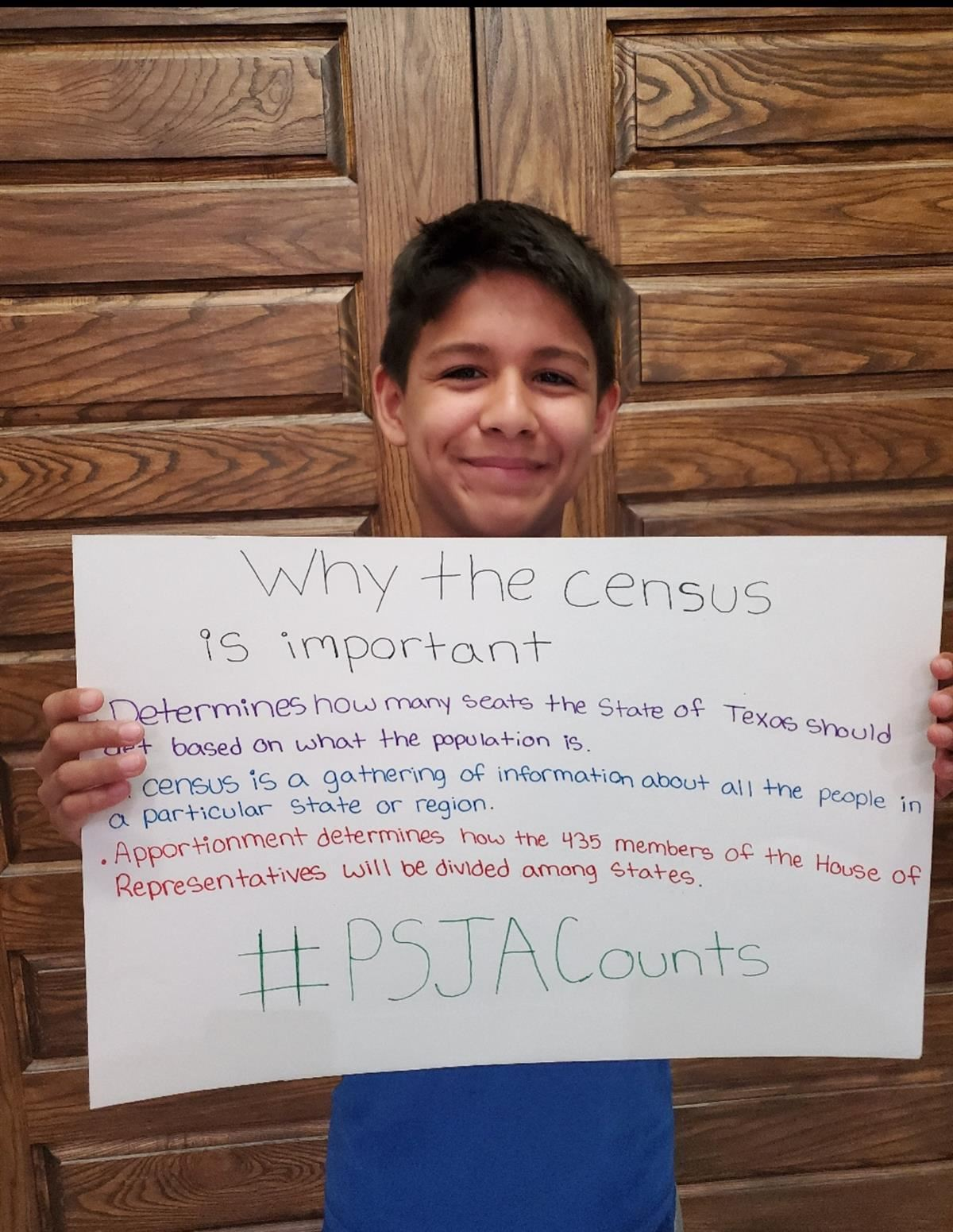 Thousands of students and their families in Pharr-San Juan-Alamo ISD learned about the 2020 Census through interactive Google