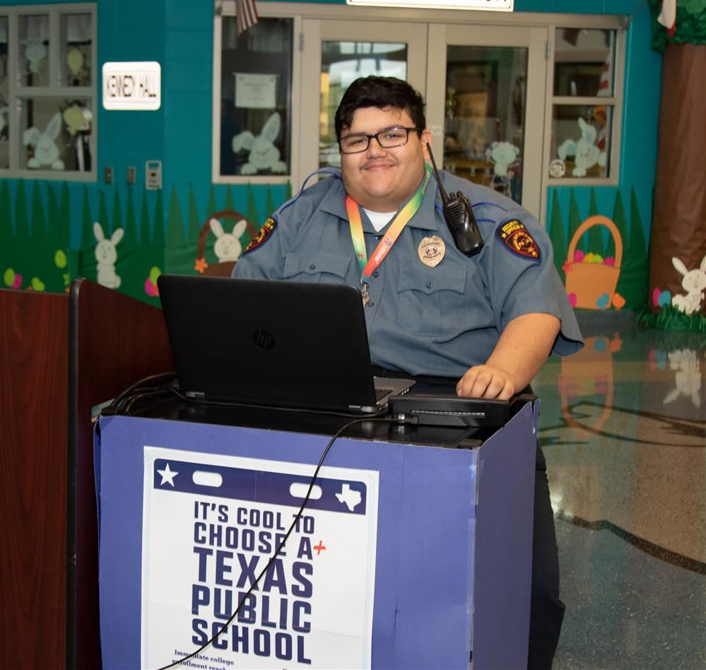 PSJA ISD autistic security guard, alum becomes a beacon of hope for special needs community