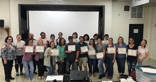 PSJA ISD staff completes rigorous training to provide
