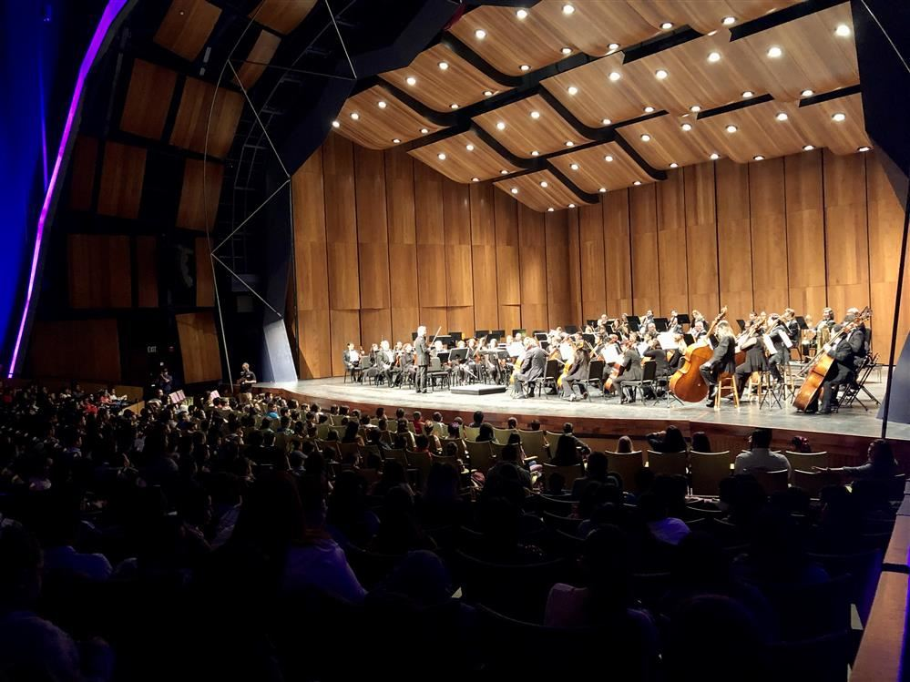 PSJA Elementary Students Attend Valley Symphony Orchestra Interactive Concert