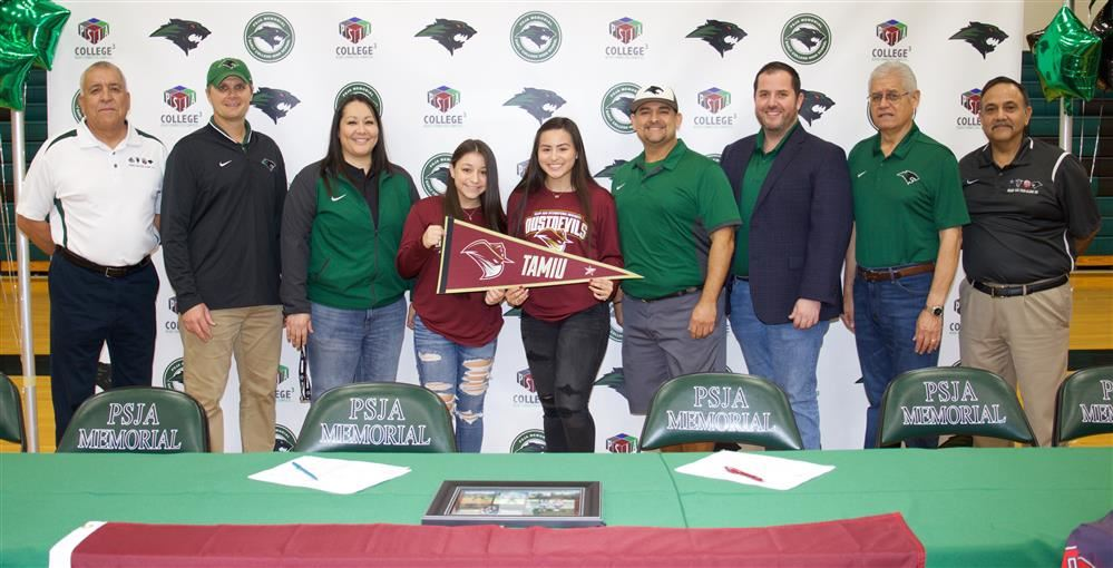Two PSJA Memorial Softball athletes to sign with TAMIU in Laredo