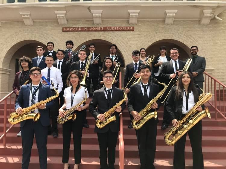 PHARR – Three Jazz Bands from Pharr-San Juan-Alamo ISD recently competed and earned Division 1 Superior ratings at the 52nd A