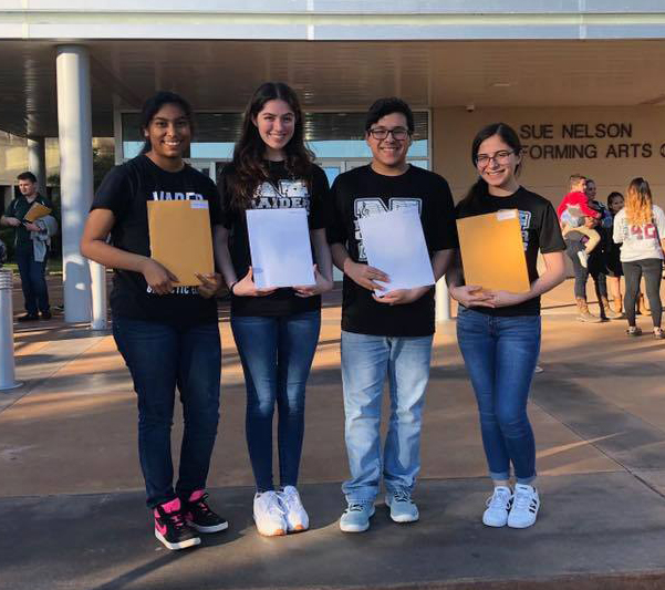 Eight PSJA ISD music students earn competitive membership to All-State Band, Choir